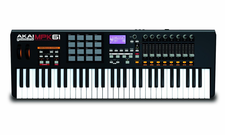Akai Pro MPK61 USB MIDI Keyboard Controller