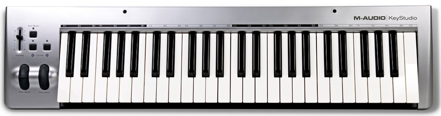 M-Audio Keystudio 49-key USB MIDI Controller Keyboard