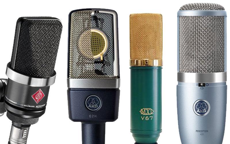 Affordable condenser microphones