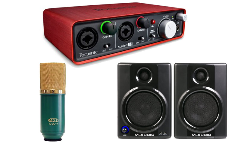 How to make a music studio with a budget of $500