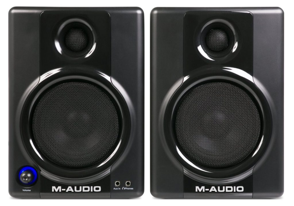 M-Audio Studiophile AV 40 Active Studio Monitor Speakers