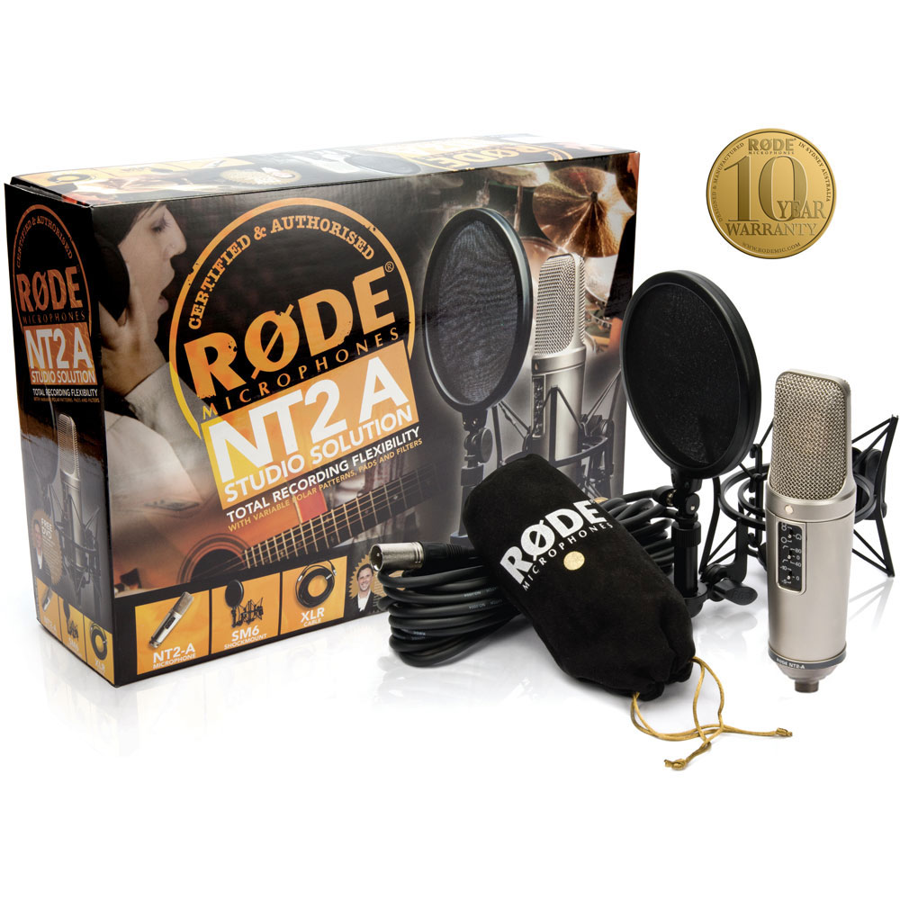 Great microphones - Rode Nt2-a condenser microphone