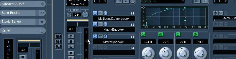 Mixing song with VST
