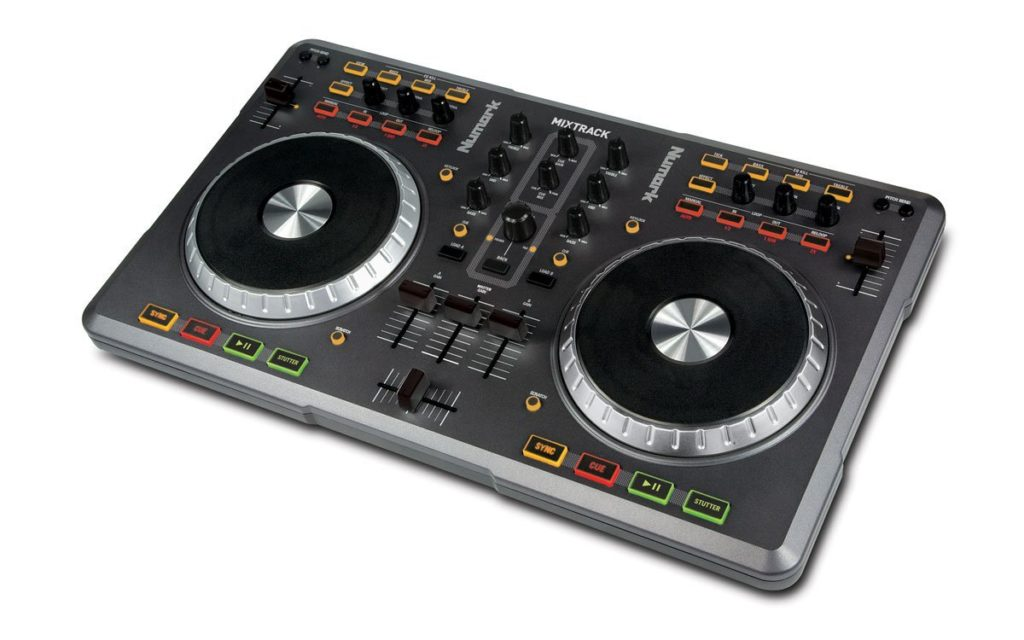 Numark Mixtrack USB DJ Controller for Mac and PC - best home studio deals