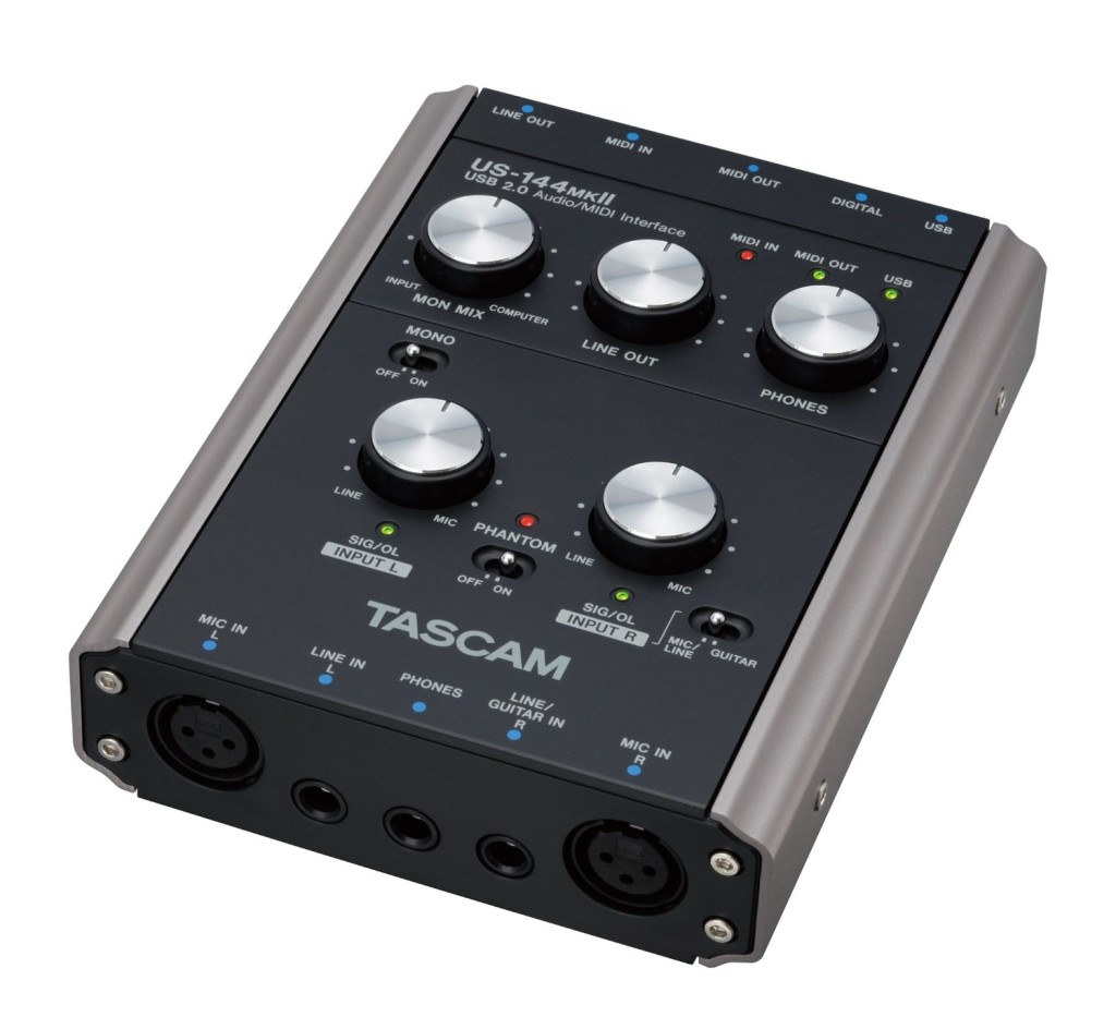 Tascam US-144MKII USB Audio Interface - best home studio deals
