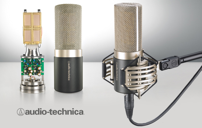 Audio-Technica AT5040 Cardioid - Best Condenser Microphones