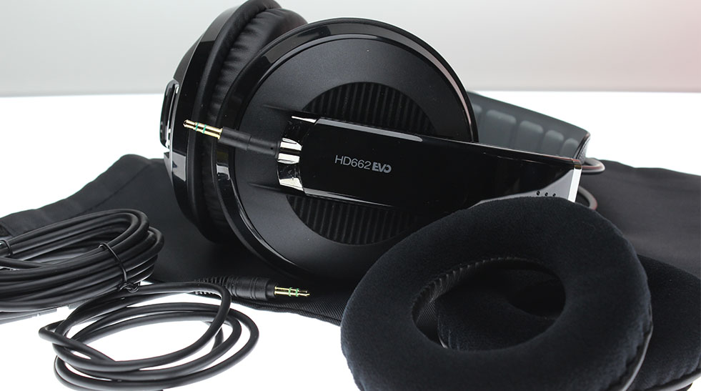 Monitoring headphones Superlux-HD662-EVO