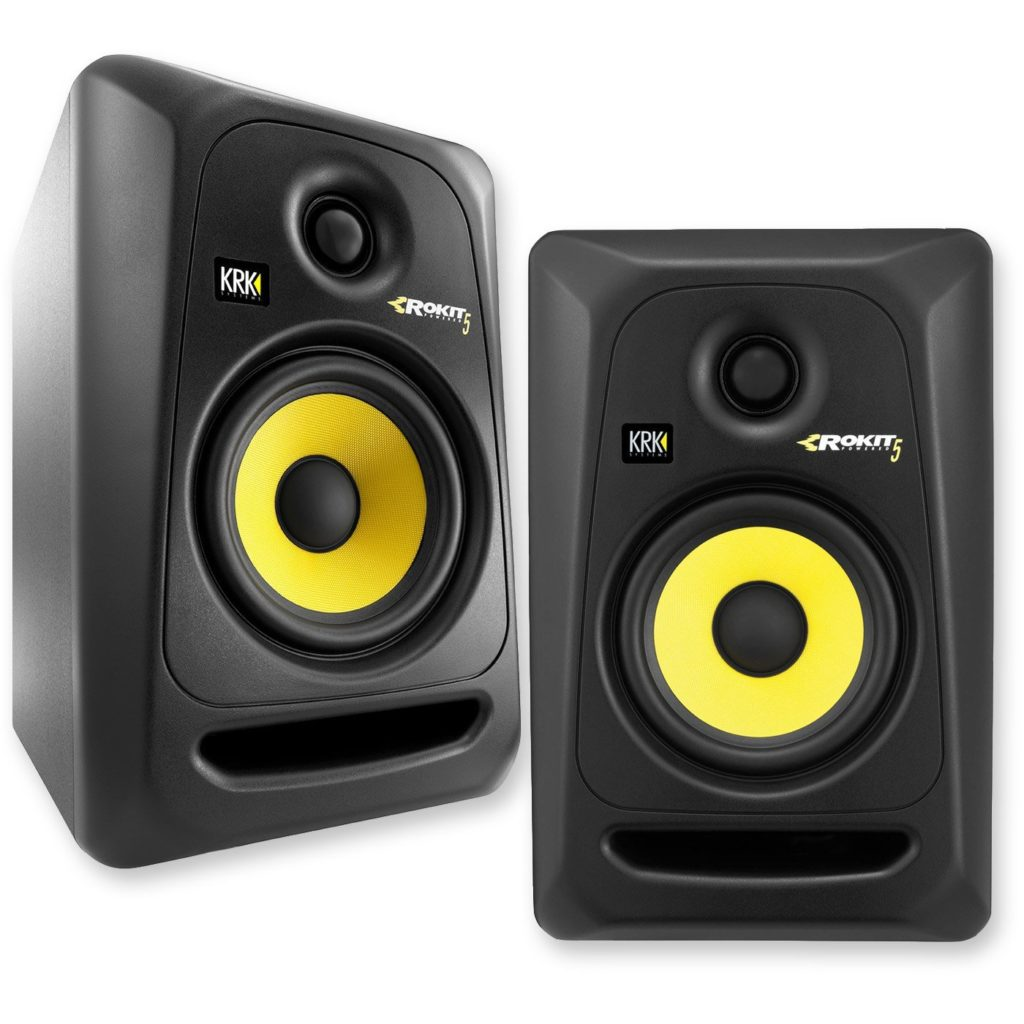 KRK RP5G3-NA Rokit 5 Generation 3 Powered Studio Monitors
